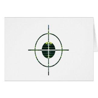 FOCUS Target GREEN Environment Clean Energy NVN252 Greeting Card