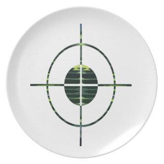 FOCUS Target GREEN Environment Clean Energy NVN252 Dinner Plates