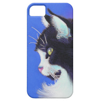 Focus Tuxedo Cat Case For The iPhone 5
