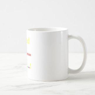 Focused Determination Rainbow Coffee Mug
