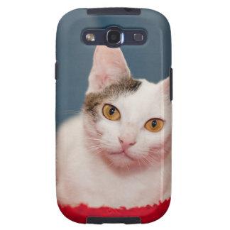 Focused Kitty Cat Galaxy S3 Case