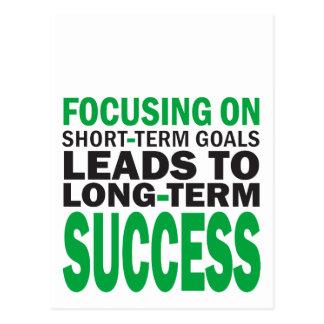 Focusing on Success Postcard