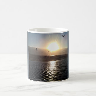 Fog Bank Sunset Coffee Mug