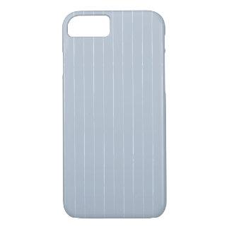 Fog Gray Pinstripes iPhone 8/7 Case