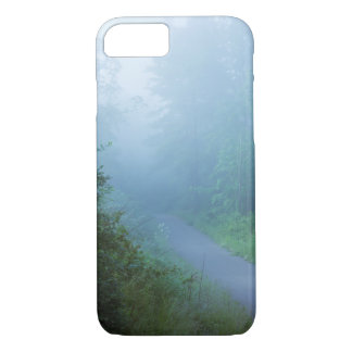 Fog in Blue iPhone 8/7 Case