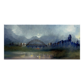 Fog On The Tyne Poster