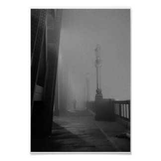 fog on the tyne - Poster