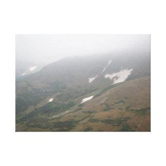 Fog Rolls In Canvas Print