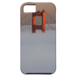 Fog rolls through the San Francisco bay covering 2 iPhone 5 Cover