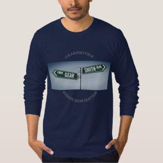 Fog style Gearsmith Street Sign Edition T-Shirt