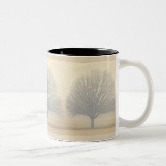 Fog Tree Two-Tone Coffee Mug