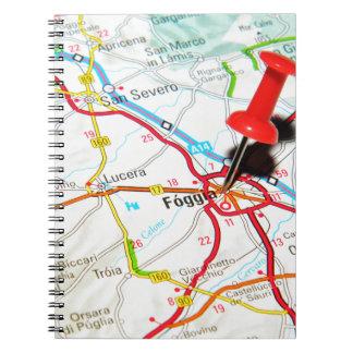 Foggia, Italy Spiral Notebook