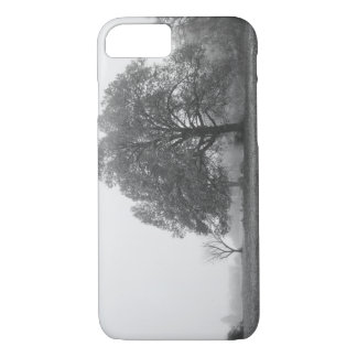 Foggy Autumn Morning Grayscale iPhone 7 Case