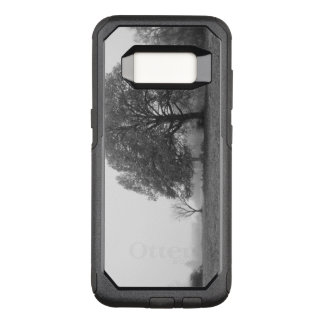Foggy Autumn Morning Grayscale OtterBox Commuter Samsung Galaxy S8 Case