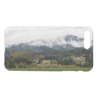 Foggy day in Woodland iPhone 7 Plus Case