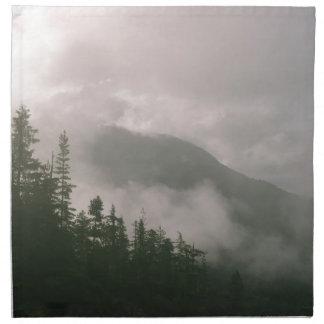 Foggy Forest Napkin