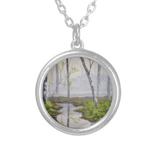 Foggy Forest Necklace