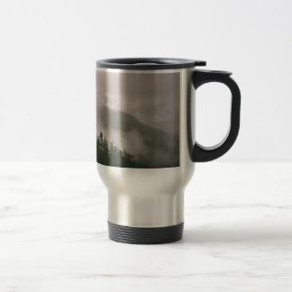 Foggy Forest Travel Mug