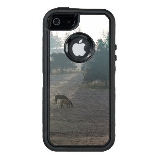 Foggy Grazing OtterBox Defender iPhone Case