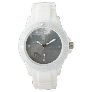 Foggy Grazing Wristwatch