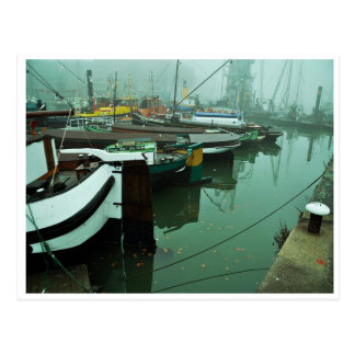 Foggy Harbor Postcard