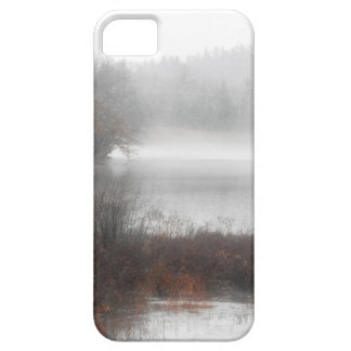 Foggy Lake on a Winter Day Barely There iPhone 5 Case