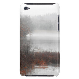 Foggy Lake on a Winter Day Barely There iPod Cover