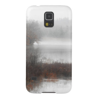 Foggy Lake on a Winter Day Case For Galaxy S5