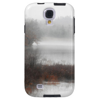 Foggy Lake on a Winter Day Galaxy S4 Case