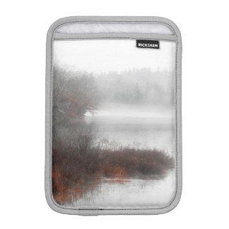 Foggy Lake on a Winter Day iPad Mini Sleeve