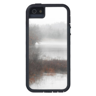 Foggy Lake on a Winter Day iPhone 5 Case