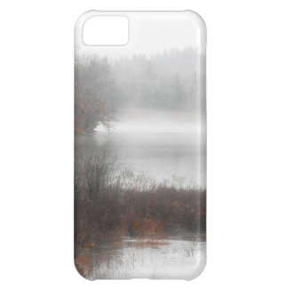 Foggy Lake on a Winter Day iPhone 5C Case
