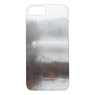 Foggy Lake on a Winter Day iPhone 8/7 Case