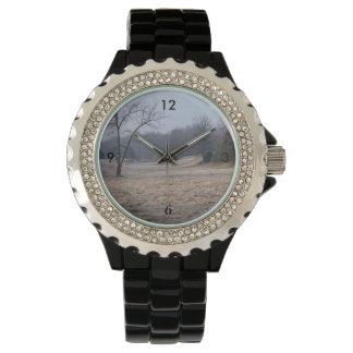 Foggy Meadow Watch