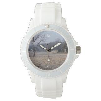 Foggy Meadow Wristwatch