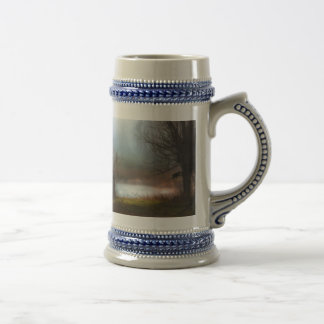 Foggy Morning Ducks Beer Stein
