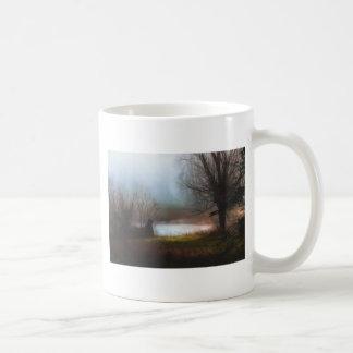 Foggy Morning Ducks Coffee Mug