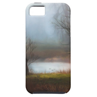 Foggy Morning Ducks Tough iPhone 5 Case