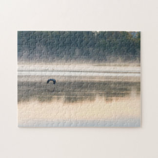 Foggy Morning Flight Jigsaw Puzzle