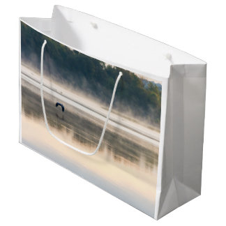 Foggy Morning Flight Large Gift Bag