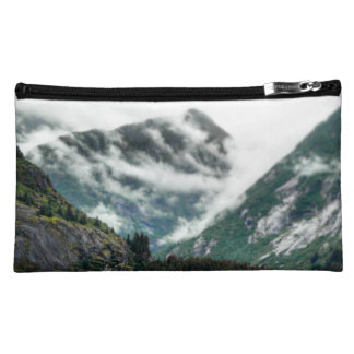 Foggy Mountain Tops Bag Cosmetics Bags