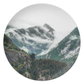 Foggy Mountain Tops Plate