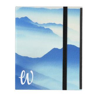Foggy Mountain Vista iPad Case