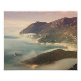 Foggy Ocean Photo Print