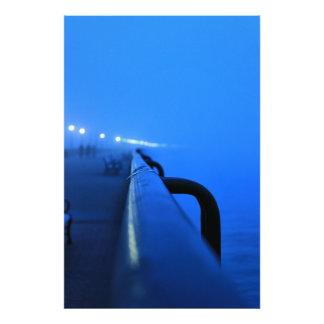Foggy Rail Photo