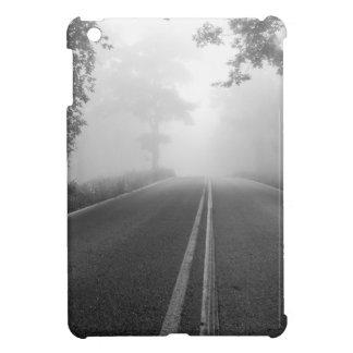 Foggy road iPad mini covers