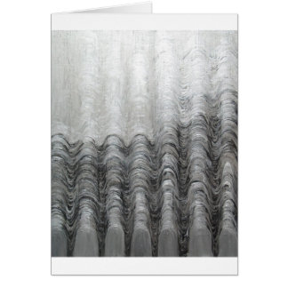 Foggy Silver Mountain Range (optical landscape) Card