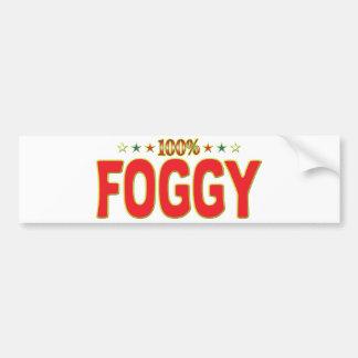 Foggy Star Tag Bumper Sticker
