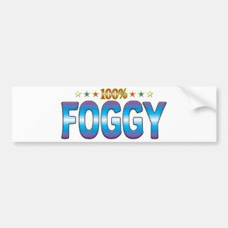 Foggy Star Tag v2 Bumper Sticker