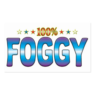 Foggy Star Tag v2 Business Card Templates